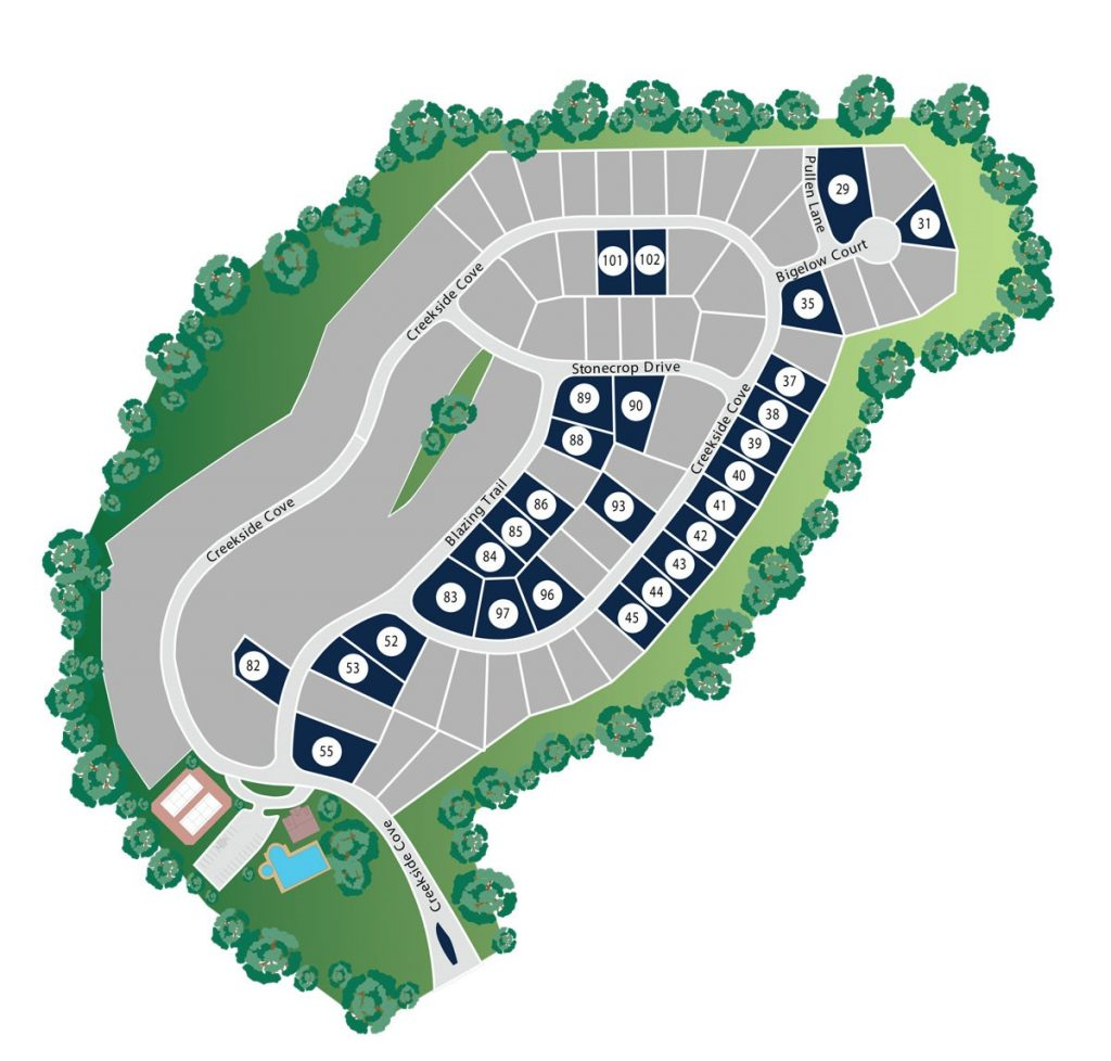 Creekside at Scarborough Site Map