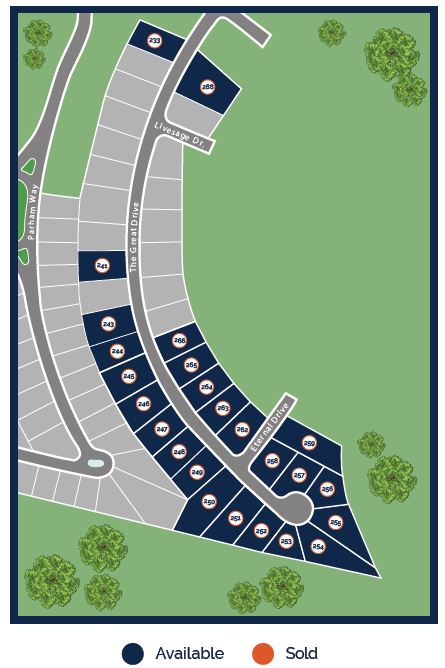 Union Crossing Site Map