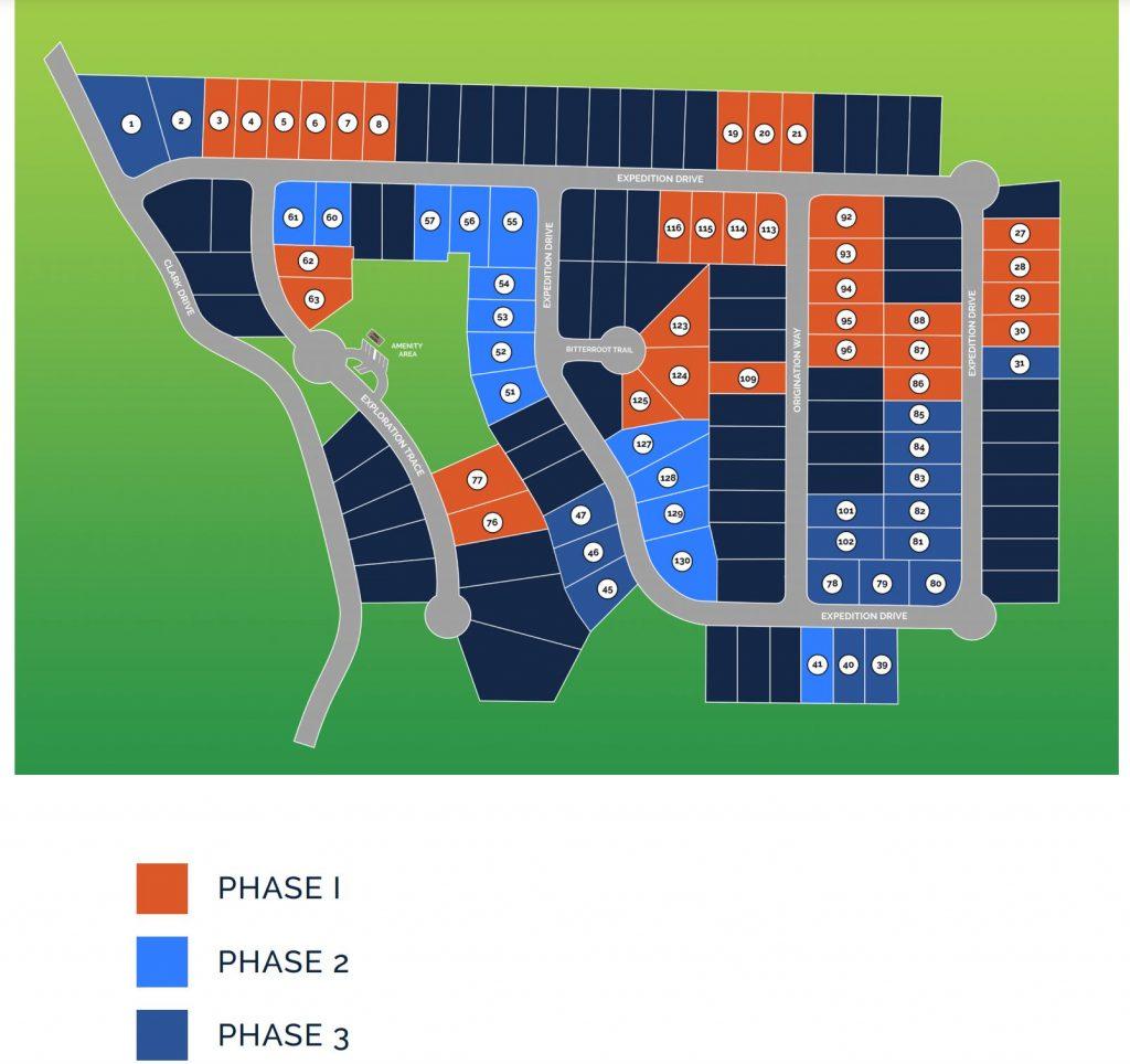 Clark Estates East Site Map